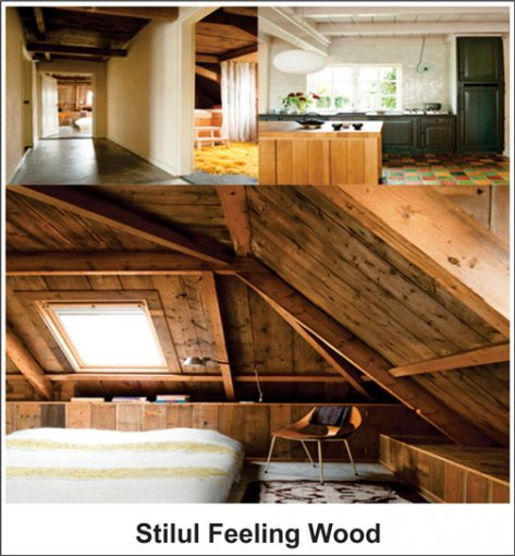 Stilul Feeling Wood