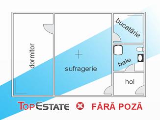 de vanzare apartament cu 2 camere semidecomandat,  confort 3 in constanta