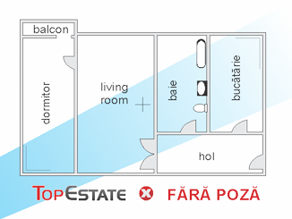 de inchiriat apartament cu 2 camere semidecomandat,  confort 2 in constanta