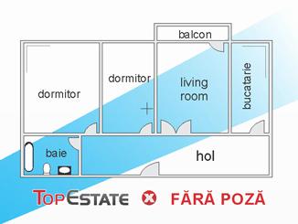de inchiriat apartament cu 3 camere decomandat,  confort 1 in constanta