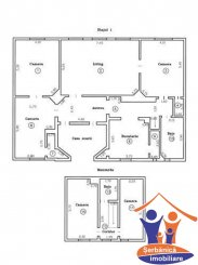 Arad, zona Ultracentral, duplex cu 6 camere de vanzare