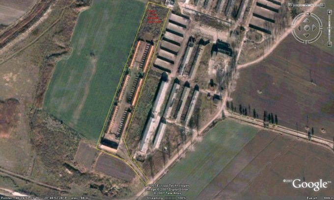 Arad Nadlac, zona Est, ferma de vanzare de la proprietar
