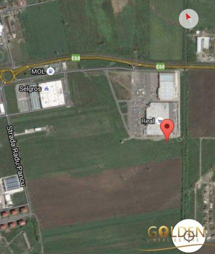 de vanzare teren extravilan in suprafata de 5000 mp si deschidere de 15 metri. In orasul Arad, zona Micalaca.