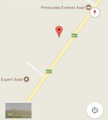 vanzare 20000 metri patrati teren agricol extravilan, orasul Arad, zona Gradiste