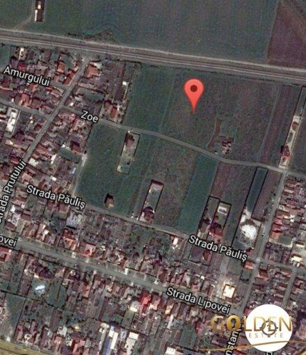 de vanzare teren intravilan cu suprafata de 539 mp si deschidere de 20 metri. In orasul Arad, zona Micalaca.