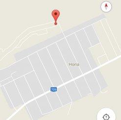vanzare teren intravilan de la agentie imobiliara cu suprafata de 500 mp, localitatea Horia