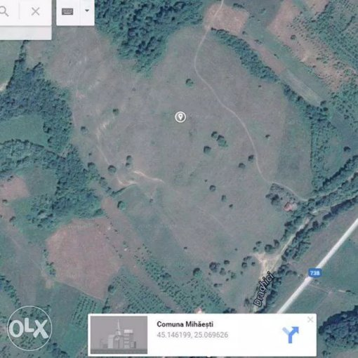 de vanzare teren extravilan in suprafata de 150000 mp si deschidere de 400 metri. In comuna Mihaesti. Clasa fertilitate: 0.