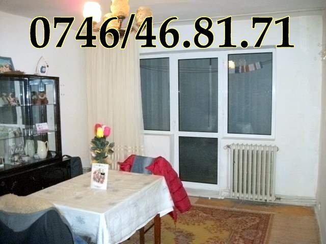Apartament cu 3 camere de vanzare, confort 1, Onesti Bacau