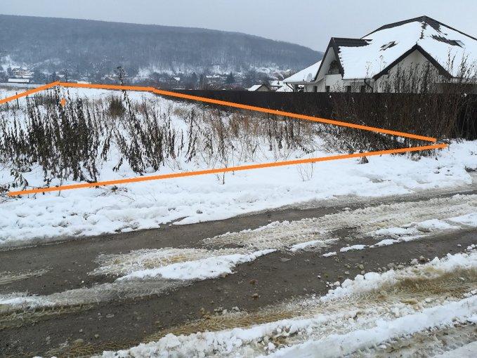 de vanzare teren intravilan cu suprafata de 5000 mp si deschidere de 20 metri. In orasul Bacau, zona Margineni.