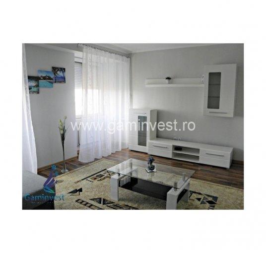 Apartament de inchiriat in Oradea cu 2 camere, cu 1 grup sanitar, suprafata utila 63 mp. Pret: 400 euro. Usa intrare: Metal. Usi interioare: Lemn. Mobilat modern.