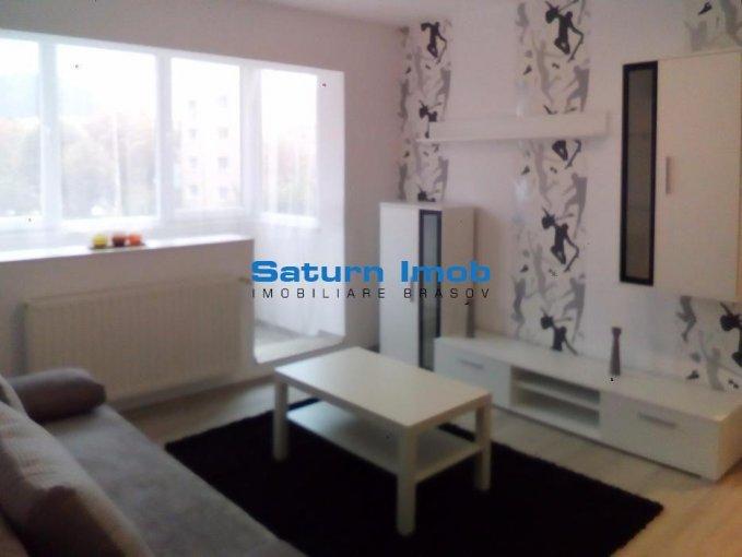 Apartament de inchiriat in Brasov cu 2 camere, cu 1 grup sanitar, suprafata utila 50 mp. Pret: 330 euro.