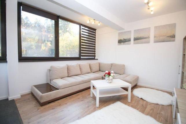 Apartament de vanzare in Predeal cu 2 camere, cu 1 grup sanitar, suprafata utila 45 mp. Pret: 52.000 euro.