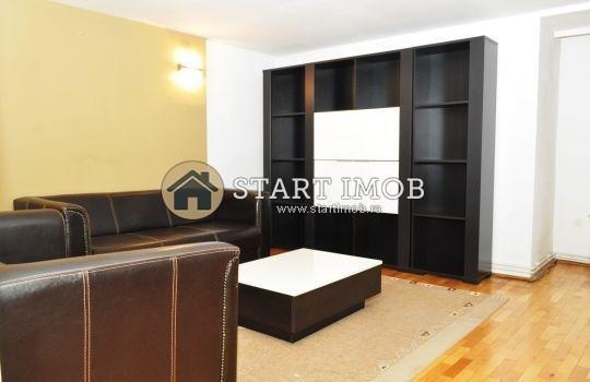 Apartament de inchiriat direct de la agentie imobiliara, in Brasov, in zona Centrul Civic, cu 350 euro. 1 grup sanitar, suprafata utila 60 mp. Mobilat modest.
