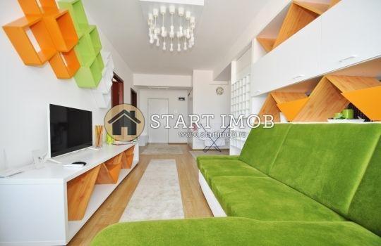 Apartament de inchiriat direct de la agentie imobiliara, in Brasov, in zona Astra, cu 450 euro. 1  balcon, 1 grup sanitar, suprafata utila 60 mp. Mobilat modern.