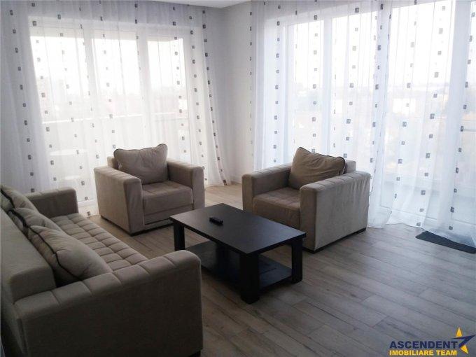 Apartament inchiriere Brasov 2 camere, suprafata utila 57 mp, 1 grup sanitar, 2  balcoane. 400 euro. Etajul 6 / 7. Destinatie: Rezidenta. Apartament Onix Brasov