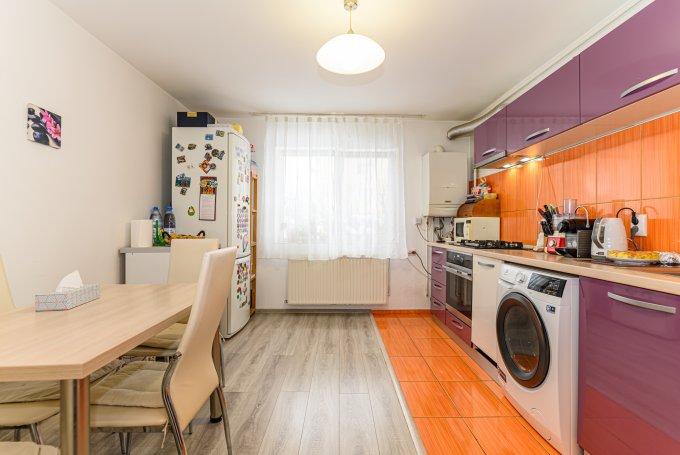 Apartament vanzare Brasov 3 camere, suprafata utila 78 mp, 2 grupuri sanitare. 74.000 euro. La Parter / 4. Destinatie: Rezidenta. Apartament Noua Brasov
