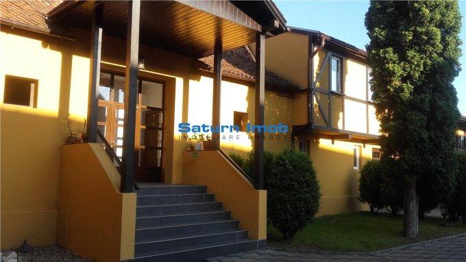 Casa de vanzare direct de la agentie imobiliara, in Cristian, cu 900.000 euro. 15 grupuri sanitare, suprafata utila 1350 mp. Are  14 camere.
