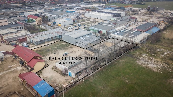 Uzina 2  Brasov Spatiu industrial de vanzare cu 1 incapere, cu 1 grup sanitar, suprafata 950 mp. Pret: 290.000 euro.