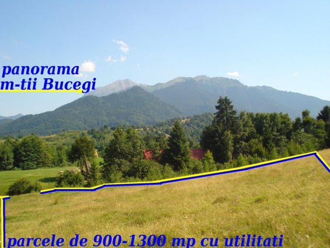 de vanzare teren extravilan in suprafata de 900 mp si deschidere de 25 metri. In orasul Rasnov, zona Glajarie. Utilitati: Curent electric 220V.