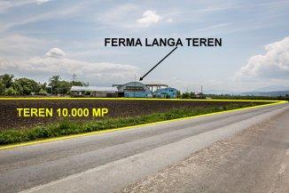 vanzare 10000 metri patrati teren agricol extravilan, orasul Codlea, zona Nord-Est