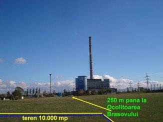 Brasov, zona Centura, teren intravilan de vanzare de la agentie imobiliara