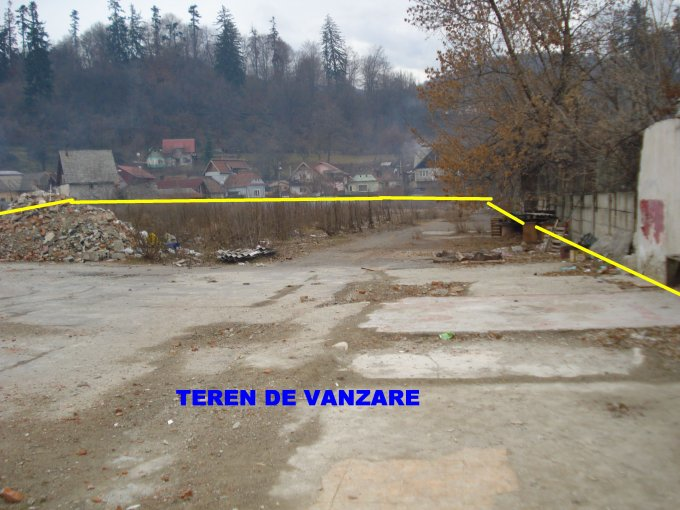 Teren vanzare de 6562 metri patrati, intravilan.  EUR. Utilitati: Telefon, Internet, CATV, Gaze, Curent electric 220V, Curent electric 380V, Apa, Canalizare. Destinatie: Rezidenta, Birou, Comercial, Centru de afaceri, Magazin. Teren  Calea Bucuresti Braso