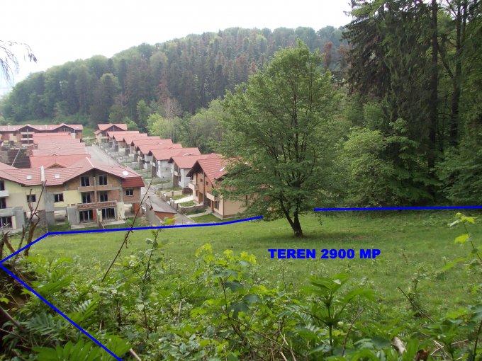 Teren intravilan de vanzare in Brasov, zona Darste. Suprafata terenului 2900 metri patrati, deschidere 70 metri. Pret: 140.000 euro. Destinatie: Rezidenta, Vacanta, (mini) Hotel / Pensiune.