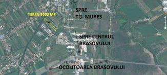 vanzare 9700 metri patrati teren intravilan, zona Stupini, orasul Brasov
