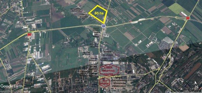 Teren intravilan vanzare 600000 mp, deschidere 240 metri. Pret: 2.480.197 EUR. proprietar vand teren intravilan Destinatie: Rezidenta.