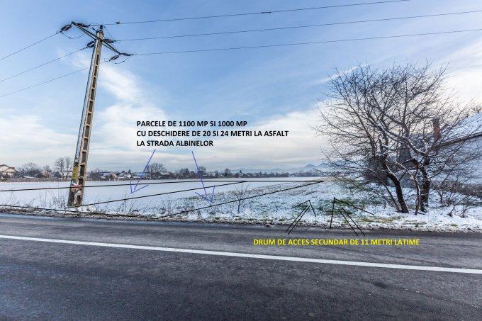 Teren intravilan de vanzare direct de la agentie imobiliara, in Brasov, zona Stupini, cu 35.000 euro. Suprafata de teren 1000 metri patrati cu deschidere de 20 metri.  Destinatie: Rezidenta.
