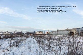 vanzare teren intravilan de la agentie imobiliara cu suprafata de 515 mp, in zona Stupini, orasul Brasov