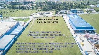 45500 mp teren intravilan de vanzare, in zona Grivitei, Brasov