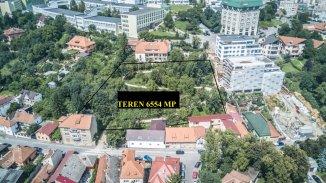 vanzare teren intravilan de la agentie imobiliara cu suprafata de 6554 mp, in zona Centru Vechi, orasul Brasov