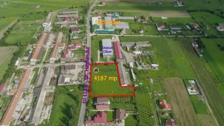 4187 mp teren intravilan de vanzare, Bod Brasov