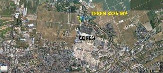 vanzare teren intravilan de la agentie imobiliara cu suprafata de 3376 mp, in zona 13 Decembrie, orasul Brasov