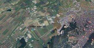 vanzare teren intravilan de la agentie imobiliara cu suprafata de 10300 mp, in zona Exterior Vest, orasul Brasov