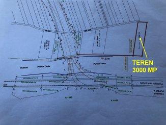 agentie imobiliara vand teren intravilan in suprafata de 3000 metri patrati, amplasat in zona Exterior Nord, orasul Sacele