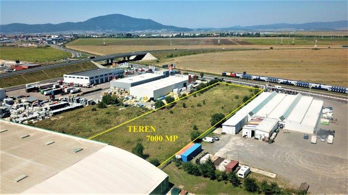 Teren intravilan de vanzare direct de la agentie imobiliara, in Brasov, zona Bartolomeu, cu 320.000 euro. Suprafata de teren 7000 metri patrati cu deschidere de 45 metri.