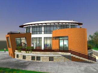 vanzare vila cu 1 etaj, 7 camere, zona Bunloc, orasul Sacele, suprafata utila 1107 mp