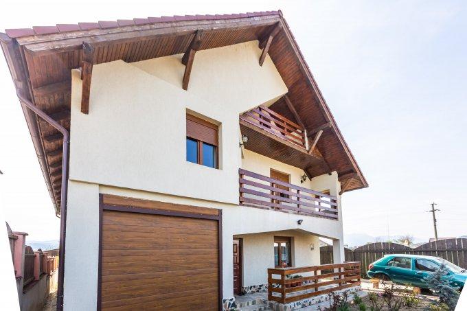 Vila cu 6 camere, 1 etaj, cu suprafata utila de 270 mp, 3 grupuri sanitare. 185.000 euro. Vila Vulcan  Brasov