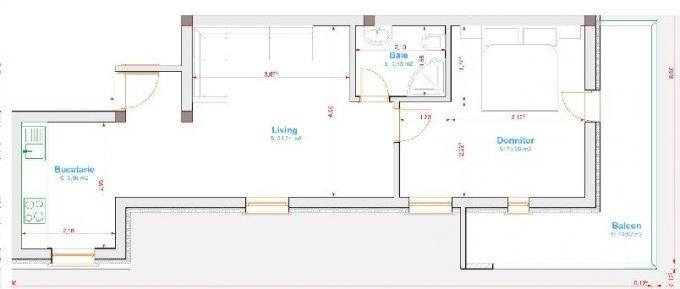 Apartament cu 2 camere de inchiriat, confort 1, zona Prelungirea Ghencea,  Bucuresti