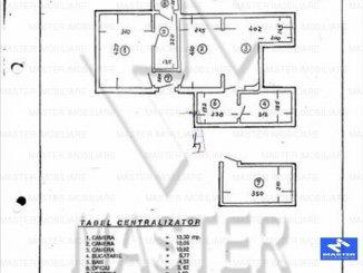 vanzare apartament decomandat, zona Dorobanti, orasul Bucuresti, suprafata utila 51 mp