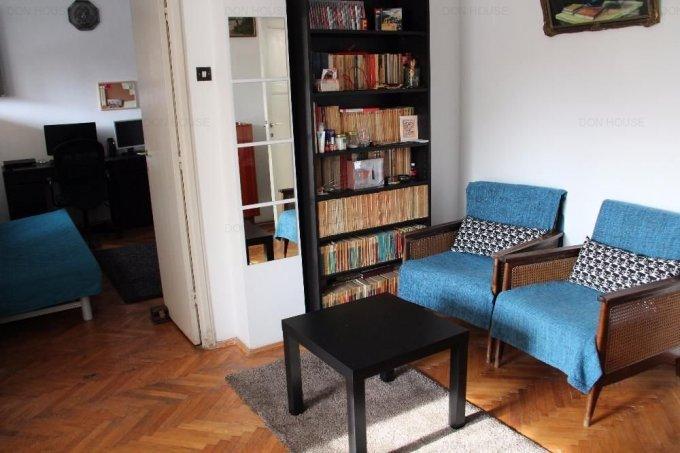 Apartament vanzare Bucuresti 2 camere, suprafata utila 51 mp, 1 grup sanitar, 1  balcon. 49.500 euro. Etajul 5 / 6. Destinatie: Rezidenta, Birou. Apartament Victoriei Bucuresti