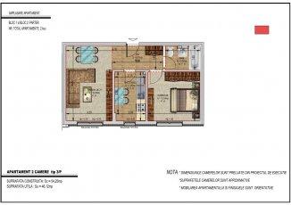vanzare apartament decomandat, zona Metalurgiei, orasul Bucuresti, suprafata utila 47 mp