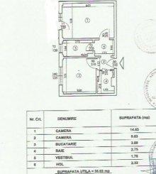 Apartament cu 2 camere de vanzare, confort 2, zona Tei, Bucuresti