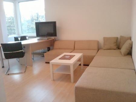 Apartament de inchiriat in Bucuresti cu 2 camere, cu 1 grup sanitar, suprafata utila 60 mp. Pret: 480 euro.