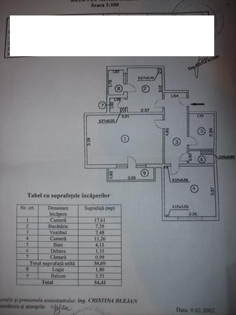 vanzare apartament cu 2 camere, decomandat, in zona Pantelimon, orasul Bucuresti