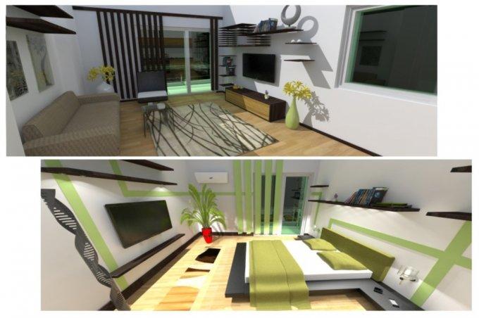 vanzare apartament decomandat, zona Crangasi, orasul Bucuresti, suprafata utila 54 mp