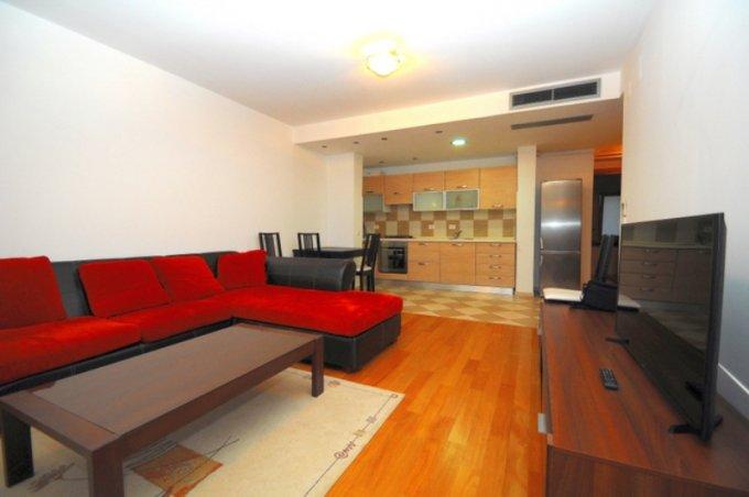 Apartament inchiriere Floreasca cu 2 camere, etajul 1 / 5, 2 grupuri sanitare, cu suprafata de 65 mp. Bucuresti, zona Floreasca. Mobilat lux.