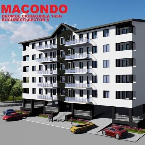 Apartament de vanzare in Bucuresti cu 2 camere, cu 1 grup sanitar, suprafata utila 53.9 mp. Pret: 57.000 euro. Usa intrare: Aluminiu.